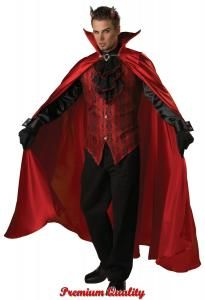 Deluxe Devil Halloween Costume for Men