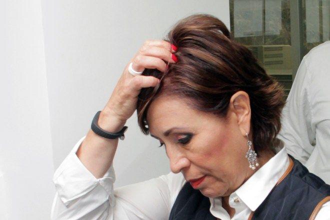 Rosario Robles, titular de la Sedesol. Desnuda ASF fraude masivo en Cruzada contra el Hambre Foto: Víctor Hugo Rojas