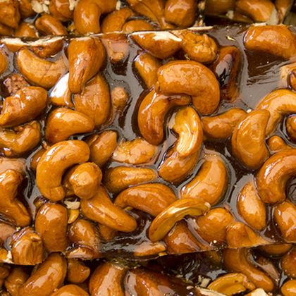 This cashew brittle is sure to delight all your sweet cravings.