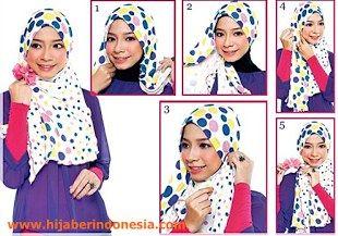 Cara Memakai Hijab Simple Untuk Sehari-hari