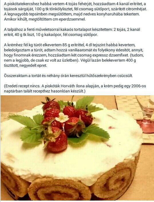 Ch diétás piskóta torta