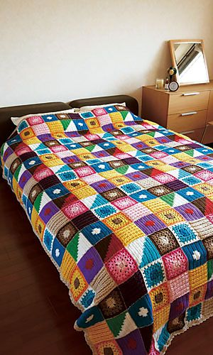 Ravelry: Kukka Bedspread pattern by Pierrot (Gosyo Co., Ltd)
