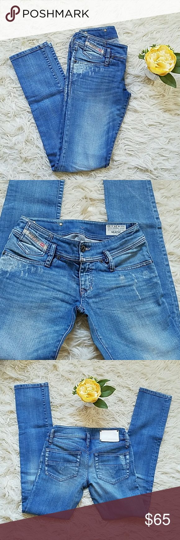 Diesel pants Perfect jeans for all ocasions/ Great condition/14' waistline/ 7' rise/ Diesel Pants