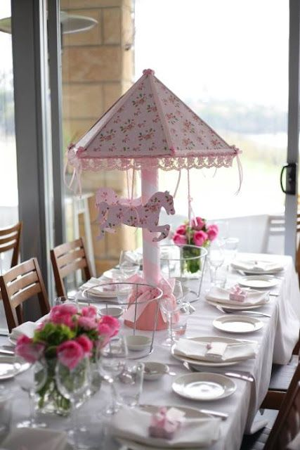 Little Big Company   The Blog: Pink Carousel Themed Christening Party by Le Petit Party