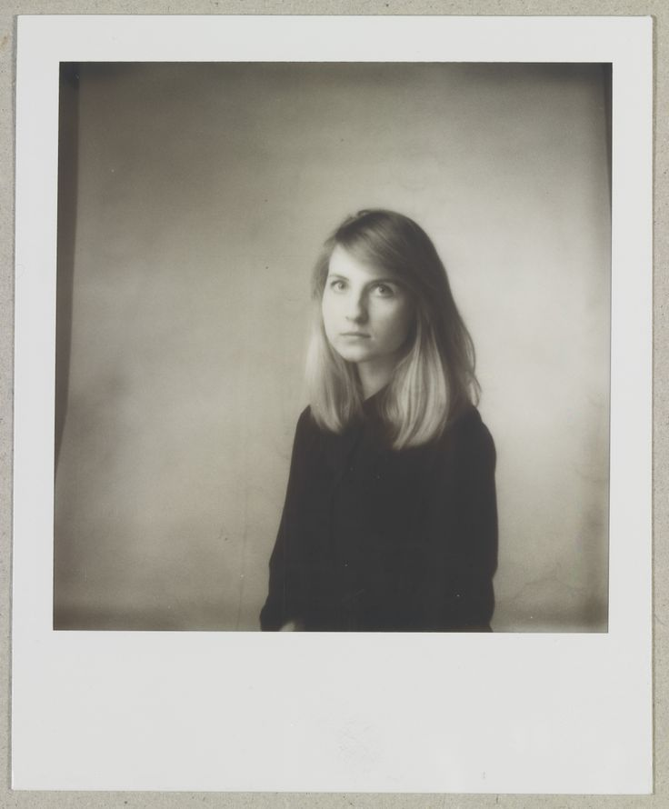 Portrait of designer Diana Dovgialo. Shot with Polaroid Supercolor 365 and impossible B&W 600 film. Broncolor studio flash were set to slave. I love the vintage look it naturally gets with this film.