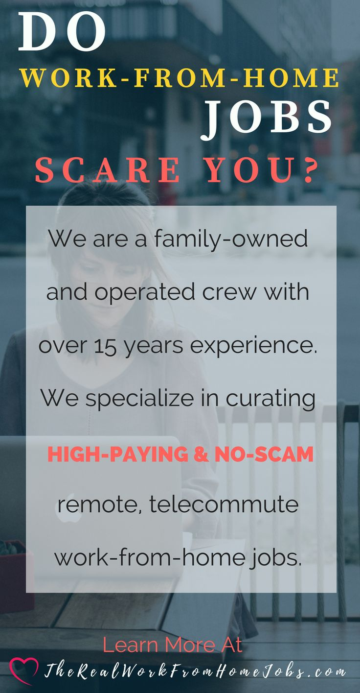 Don't be scared! We've got your back!  If you're tired of getting caught up in work-from-home job scams then put the experts to work. We offer an awesome job board and personal job matching employment services. Check out our member services today.   #workfromhome #workathome #remotework #telecommute #virtualassistant #college #telework #jobs #lookingforwork #work #skills #employment #jobsearch #telecommute #homebased #hire #gig #homeoffice #remote #freelance #digital #marketing #nomad…