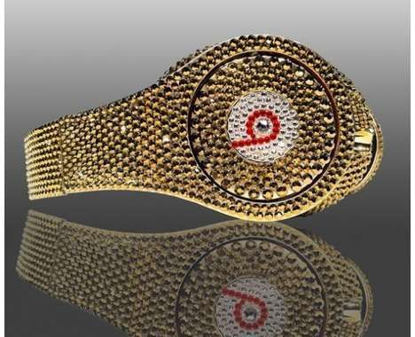 Beats by Dre Headphones  made with Swarovski Elements  Number 1 Seller 2000 Sales 5 Star Rating