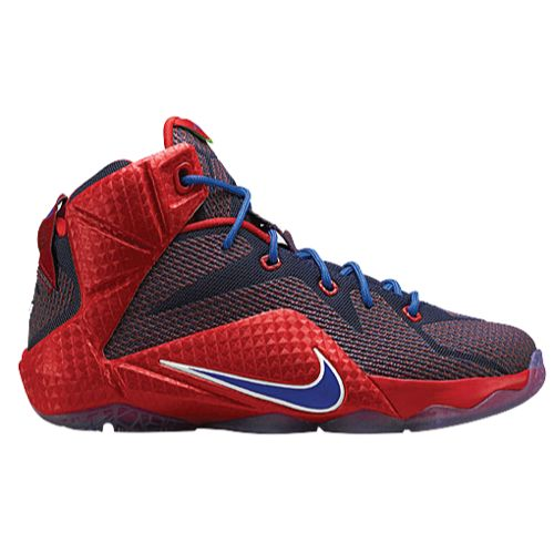 Nike Lebron XIII Elite, Zapatillas de Baloncesto Para Hombre, Rojo (University Red/Blk-Brght Crmsn), 41 EU
