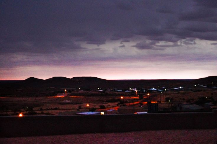 First light in Coober Pedy, South Australia