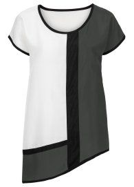 Блузка белый - BODYFLIRT заказать онлайн - bonprix.ru