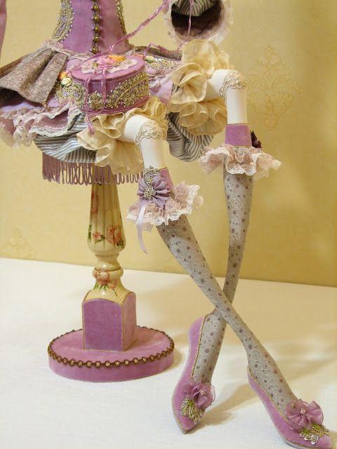 Кукольная мастерская ANNADAN: Уже полностью закончила. Куклу зовут Лелуш.