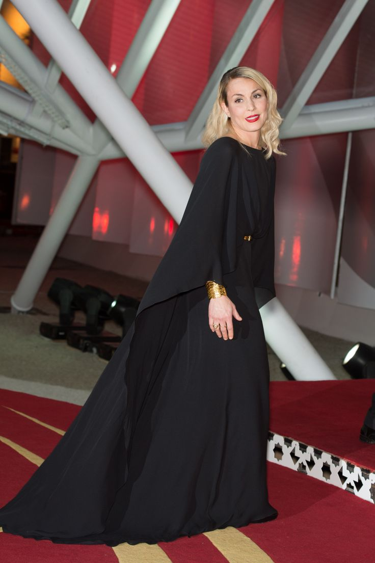 Noomi Rapace wears ELIE SAAB Ready-to-Wear Fall Winter 2013-14 to the 'Waltz With Monica' Premiere at 13th Marrakech International Film Festival.