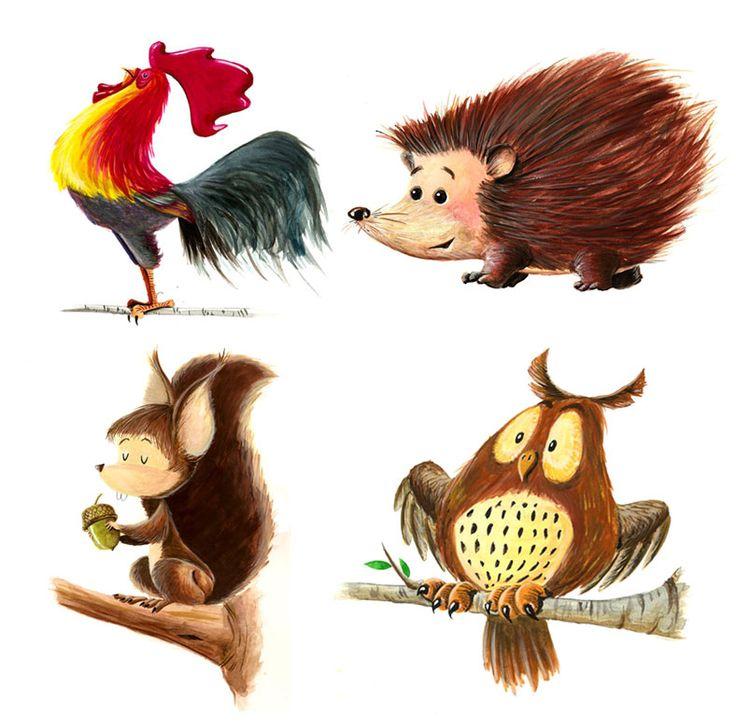 .Squirrels Owls, Book Art, Child Illustration, Hedgehogs Squirrels, Animalesjpg 788780, Animal Classification, Animal Illustration, Cock Hedgehogs, Cartoony Character