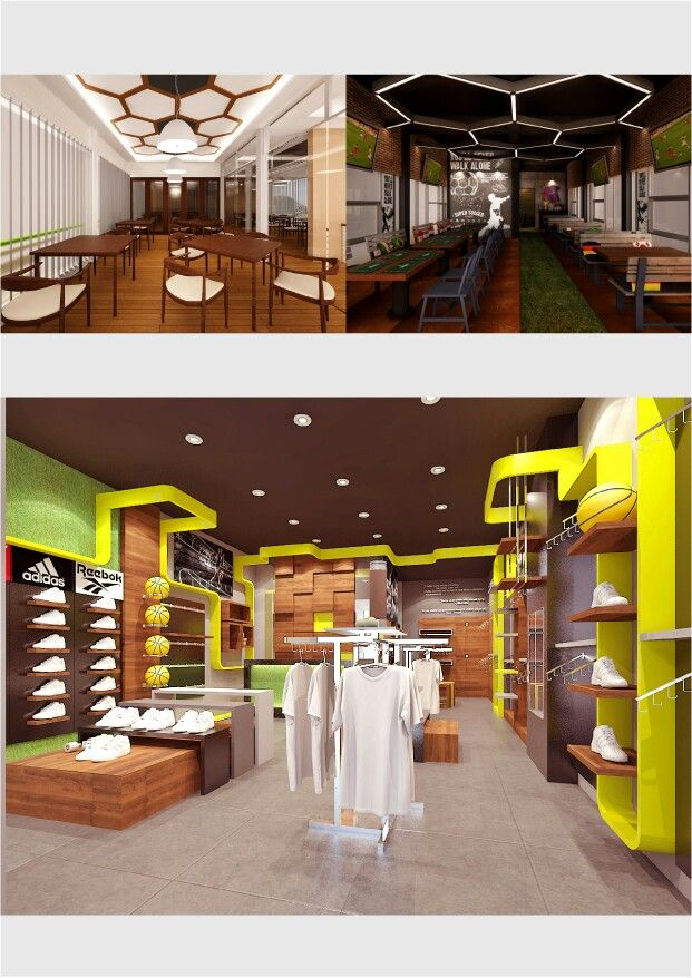 Cafe & Carwash, Interior by Improof Factory