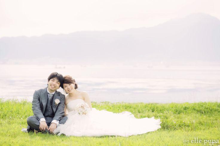 真夏の琵琶湖前撮り* の画像|*elle pupa blog*
