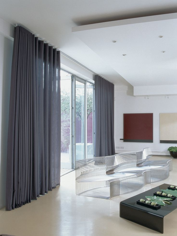 Wave Curtains On Patio Doors