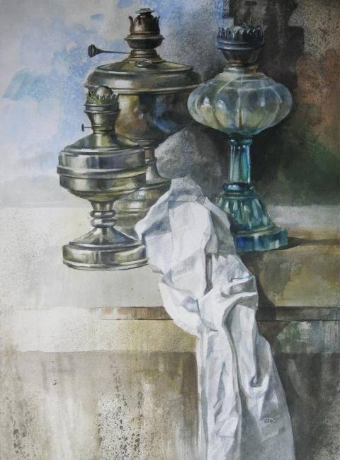 Карпан Александр. Старые лампы