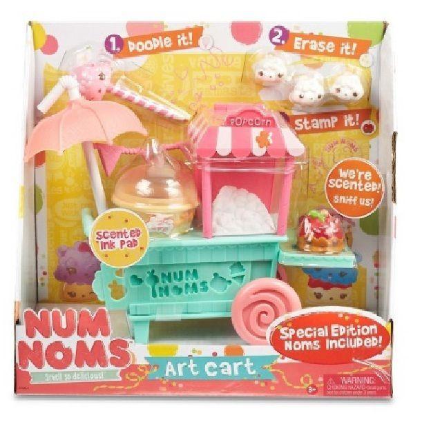 Special Edition Num Noms Art Cart Christmas Gift Toys Set #NumNoms