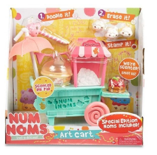 Special Edition Num Noms Art Cart Christmas Gift Toys Set #NumNoms