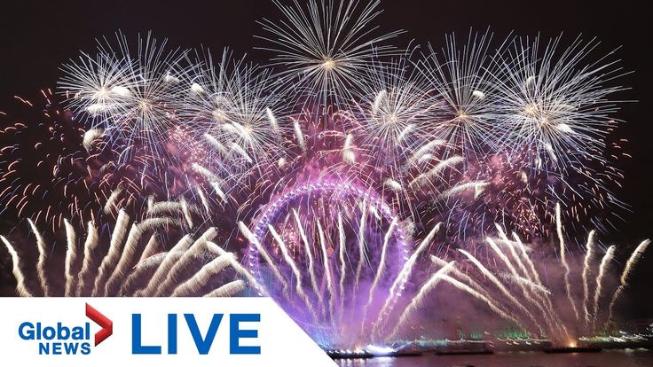 New Year's Eve 2020 countdown celebrations around the