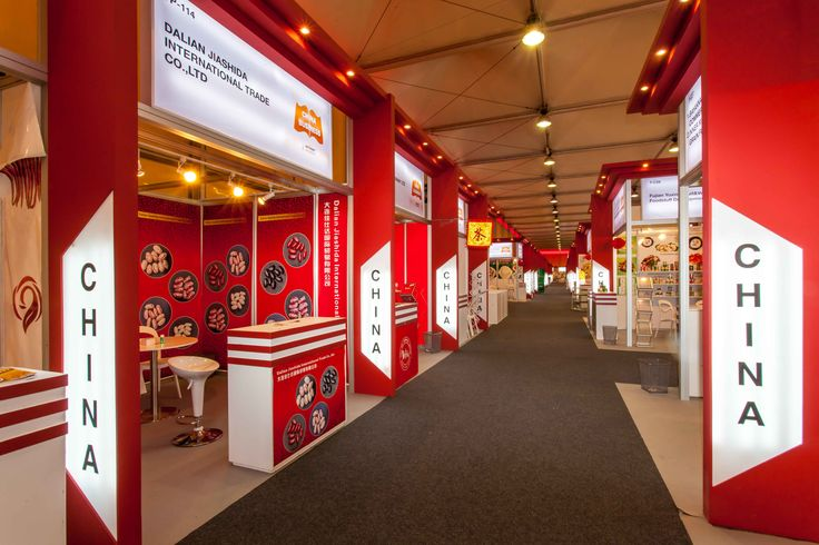 #China #Exhibition #Stand @Gulfood #Dubai #MiddleEast designed & built by #GLeventsMiddleEast