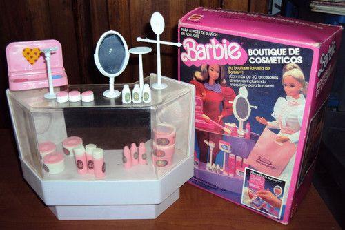 """Barbie Boutique de COSMÉTICOS """"80s"""" - wonderren"""