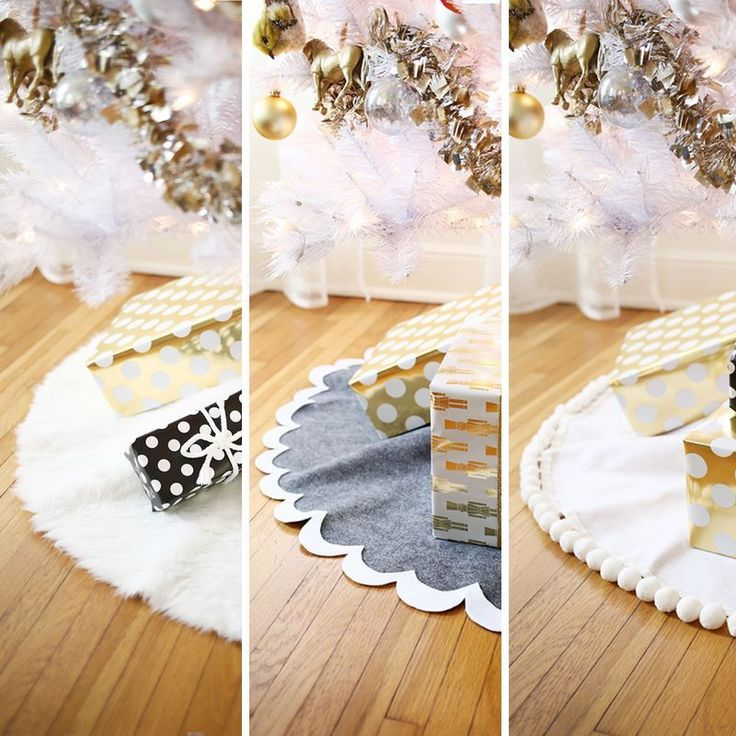 I have a Christmas confession to make—Ive never had a tree skirt before. I dont mean Ive never...