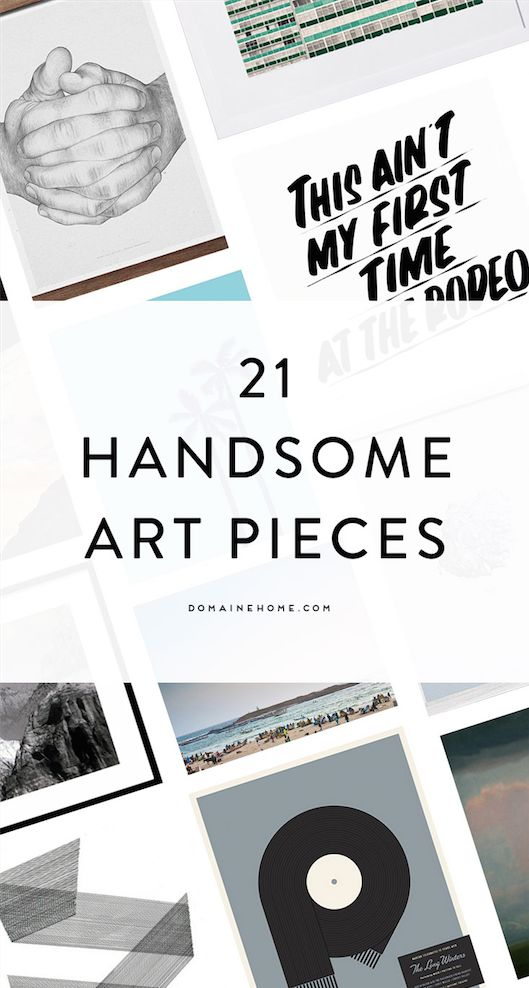 21 pieces of art perfect for any bachelor pad