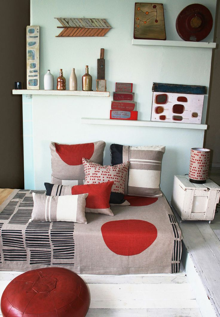 Red & Rustic