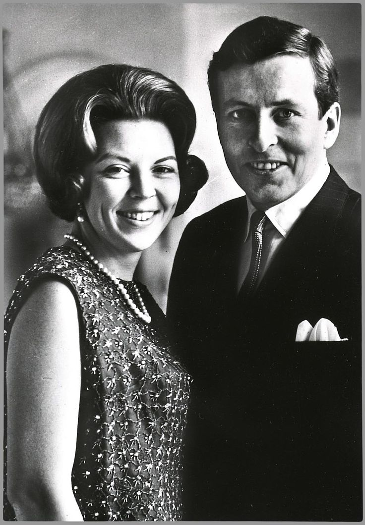 Prinses Beatrix of the Netherlands and Claus von Amsberg - married from 1966 until his death in 2002