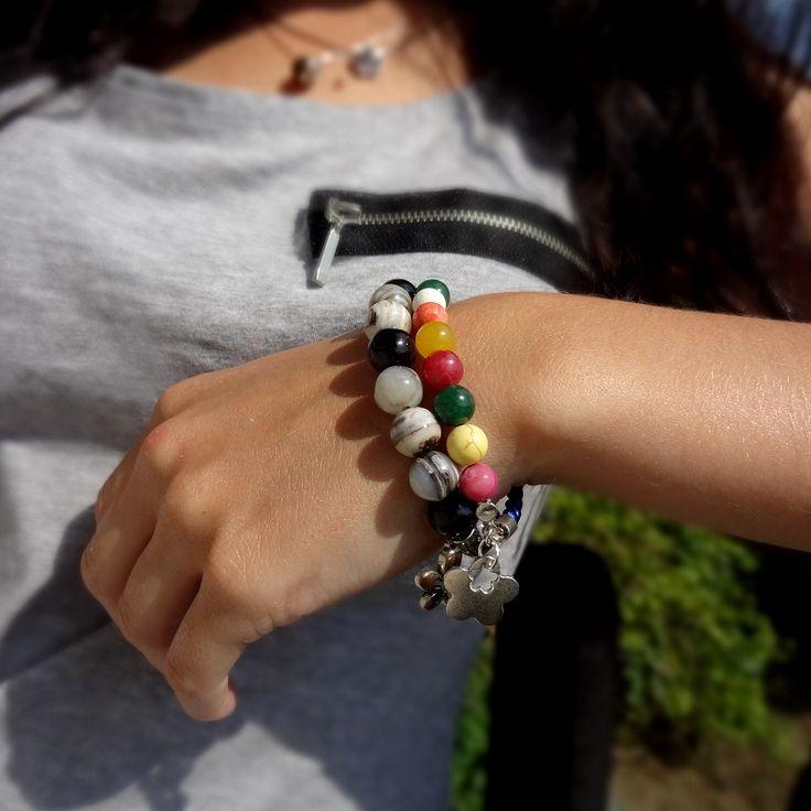 Colorful bracelets <3