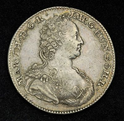 Austrian Netherlands, Maria Theresa Ducaton Silver Coin of 1753. Obverse: Diademed bust of Maria Theresia right, mintmaster initial (R) at arm truncation. Numismatic Collection, best silver coins for investment, silver coins, old coins, coin collecting, rare coins, world coins, foreign coins, heritage coins, silver ira investment, silver bullion coins, silver coin collection investors, investment coins, antique coins, Unique Silver Coins, collectible coins.