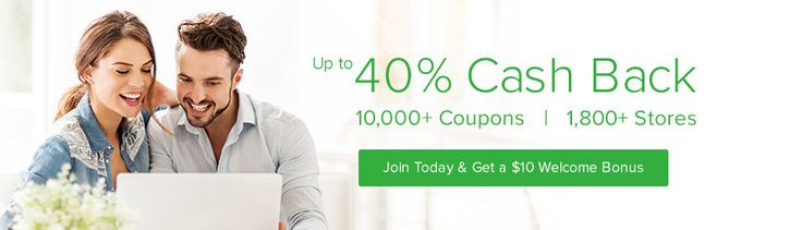 Get cash back on purchases you are already going to make online! They apply all known coupon codes to purchases, and also have special codes just for use with Ebates. Start now and start saving!