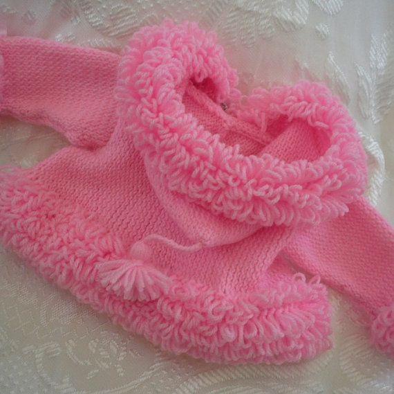 Baby coat pattern handknitting PDF download by JaminaRose on Etsy, $5.50