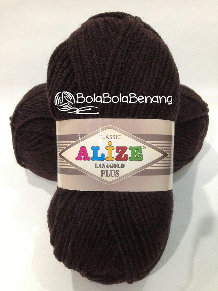 LANAGOLD PLUS 057, Price: Rp.100.000,- /gulung, Bahan: 49% Wool – 51% Acrylic, Berat/Panjang: 100gr/140m, Knitting Needles : 5mm -7mm, Crochet hook: 6mm - 7mm