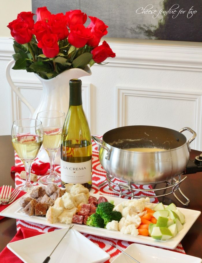 Romantic Cheese Fondue for Two