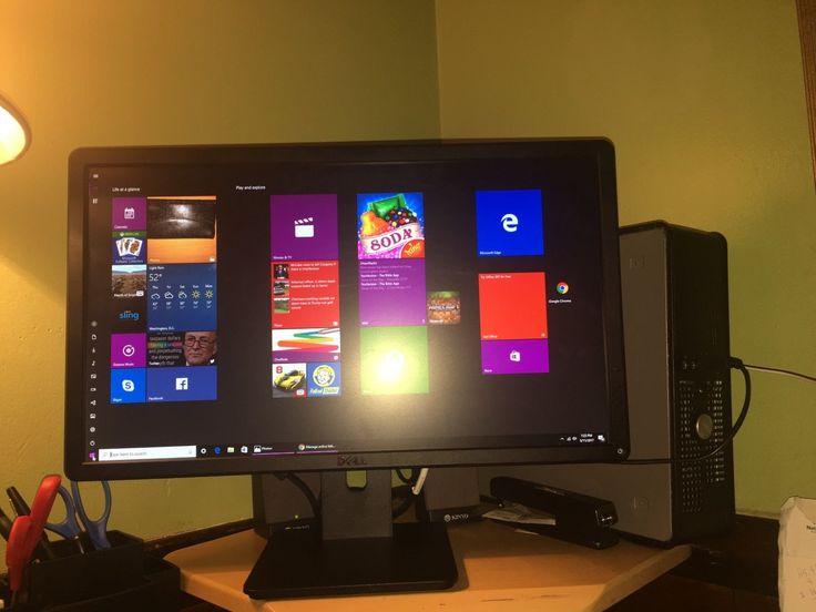 FAST Dell Optiplex  755  Windows 10 Desktop/ Computer DC 4GB Ram DVD/monitori