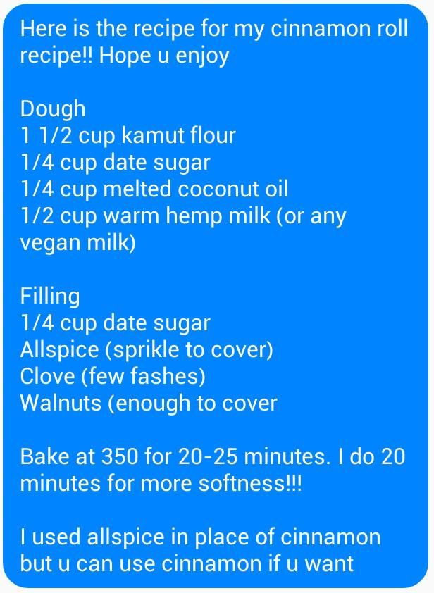 Alkaline Vegan cinnamon rolls with Dr Sebi approved ingredients