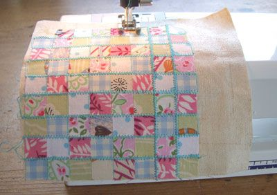 Such a cute and fabulous and simple idea for patchwork.  I must remember to do this!