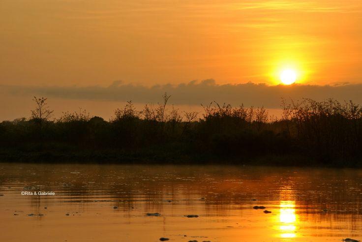 Alba sul fiume Nilo!!! Serenità e Tranquillità in questo paradiso...