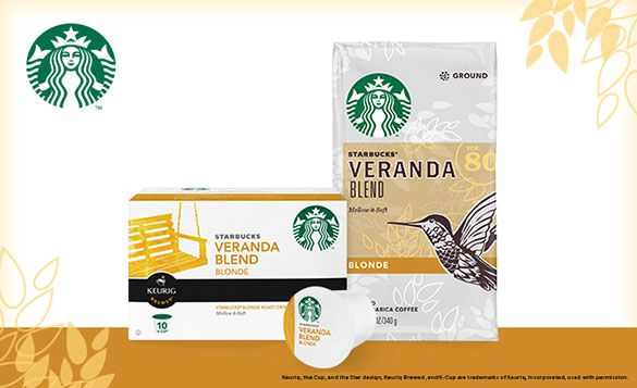 Starbucks Blonde- I tried it and am in love! Veranda Thx #bzzagent