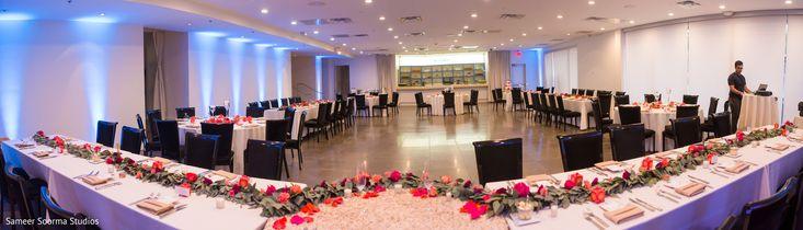 Amazing Indian wedding reception photo. https://www.maharaniweddings.com/gallery/photo/145641 @aproposcr8ions