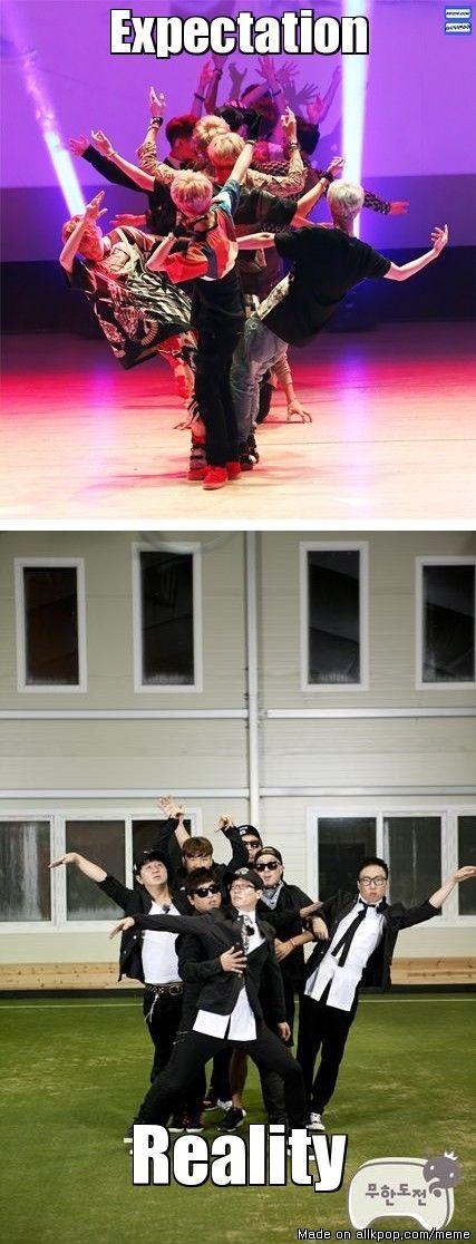 EXO with Infinity Challenge .. ♡ #KPOP #FUNNY