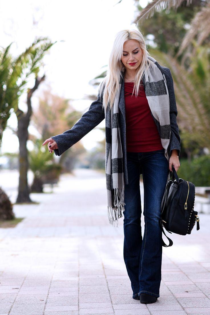 Come indossare i jeans a zampa d'elefante questo autunno/inverno 2015-2016? Ecco alcune idee per look boho, hippie o decisamente più eleganti e ricercati!