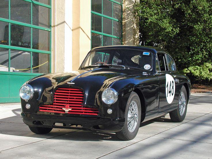 1954 Aston Martin DB 2/4 Black with Black leather interior SOLD
