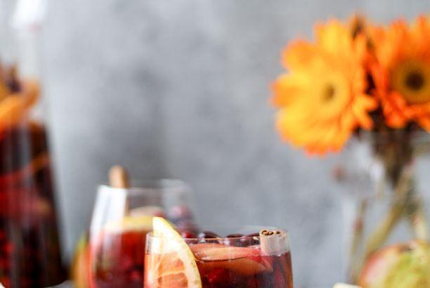 Cranberry Chai Sangria.