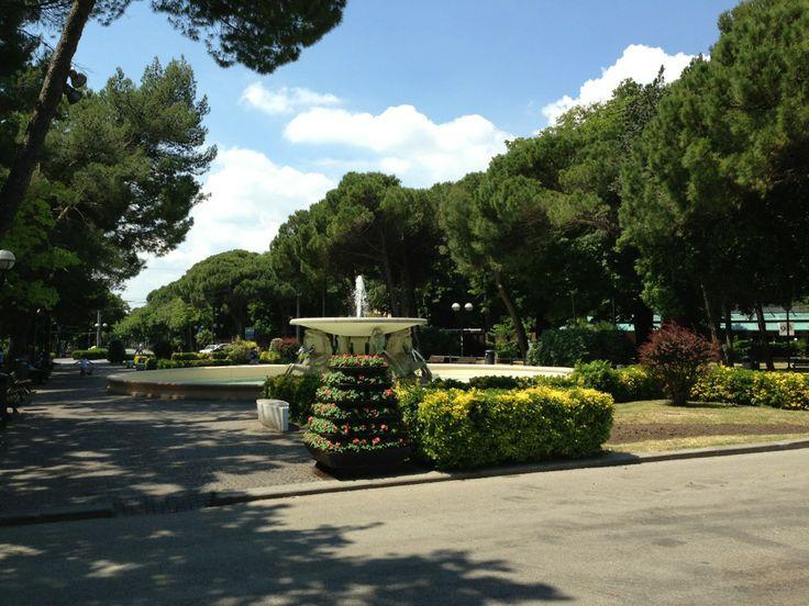 Piazzale Federico Fellini nel Rimini, Emilia-Romagna