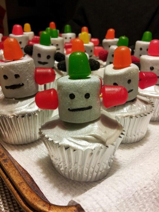 Wirledpeas: Robot Cupcakes!