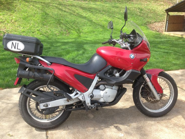 Well maintained 1997 BMW F650 motorcycle. 2000. 650cc