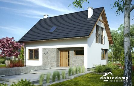Mały domek, idealny na wąską dziełkę :)